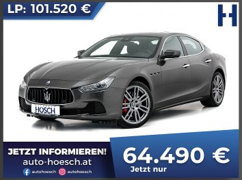 Maserati Ghibli 3.0 V6 Aut. bei Autohaus Hösch GmbH in