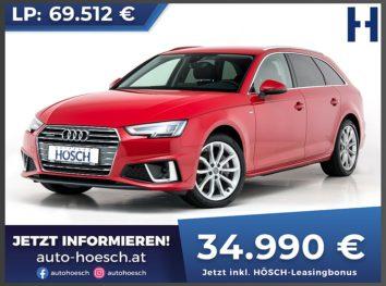 Audi A4 Avant 40 TDI quattro Design S-Line Aut. bei Autohaus Hösch GmbH in