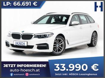 BMW 520d Touring M-Sport Aut. bei Autohaus Hösch GmbH in