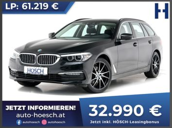 BMW 520i Touring Aut. bei Autohaus Hösch GmbH in