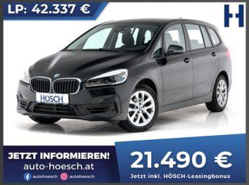BMW 218i Gran Tourer Advantage Aut. bei Autohaus Hösch GmbH in