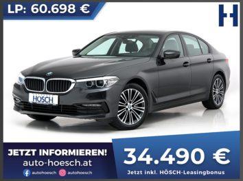 BMW 520d Sport Line Aut. bei Autohaus Hösch GmbH in