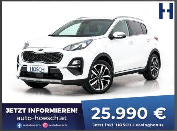 KIA Sportage CRDi Mild-Hybrid Prestige Aut. bei Autohaus Hösch GmbH in