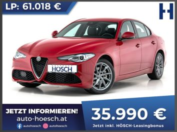 Alfa Romeo Giulia Veloce 280 Q4 Aut. bei Autohaus Hösch GmbH in