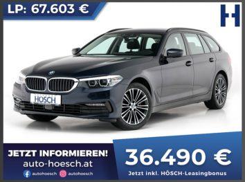 BMW 520i Touring Sport Line Aut. bei Autohaus Hösch GmbH in