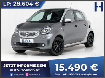 Smart Forfour EQ passion Aut. bei Autohaus Hösch GmbH in