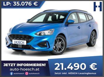 Ford Focus Turnier EcoBlue ST-Line bei Autohaus Hösch GmbH in