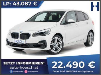 BMW 218i Active Tourer Advantage Aut. bei Autohaus Hösch GmbH in