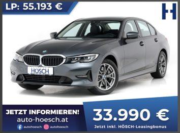 BMW 330i Sport Line Aut. bei Autohaus Hösch GmbH in