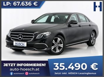 Mercedes-Benz E 200 Avantgarde Aut. bei Autohaus Hösch GmbH in