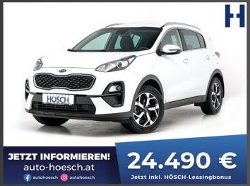 KIA Sportage 1.6 CRDi Silber Aut. bei Autohaus Hösch GmbH in