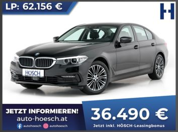 BMW 520i Sport Line Aut. bei Autohaus Hösch GmbH in