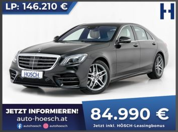 Mercedes-Benz S 350d 4MATIC AMG Line Aut. bei Autohaus Hösch GmbH in