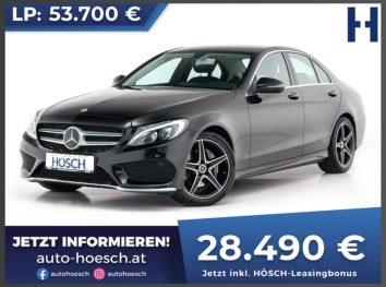 Mercedes-Benz C 220d AMG-Line Edition C Aut. bei Autohaus Hösch GmbH in