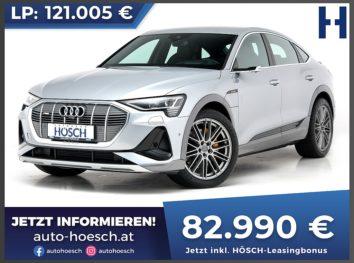 Audi e-tron Sportback 55 quattro S-Line Aut. bei Autohaus Hösch GmbH in