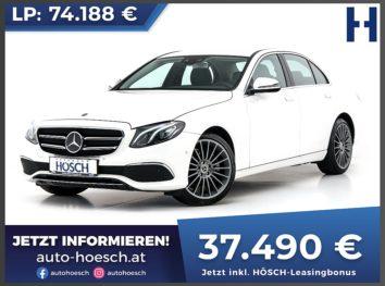 Mercedes-Benz E 300d Avantgarde Aut. bei Autohaus Hösch GmbH in