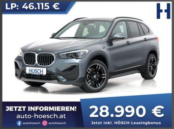 BMW X1 sDrive 16d Advantage Aut. bei Autohaus Hösch GmbH in