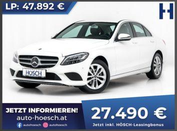 Mercedes-Benz C 180 Avantgarde Aut. bei Autohaus Hösch GmbH in