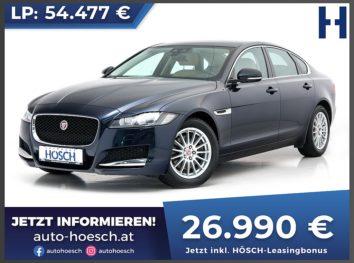 Jaguar XF 20d Prestige Aut. bei Autohaus Hösch GmbH in