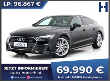 Audi A7 Sportback 50 TDI quattro 2x S-line Aut. bei Autohaus Hösch GmbH in