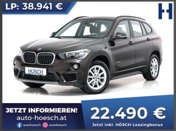 BMW X1 sDrive 18d Aut. bei Autohaus Hösch GmbH in