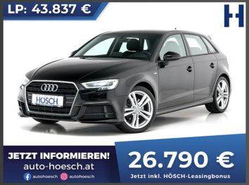 Audi A3 Sportback 40 TFSI Sport S-Line Aut. bei Autohaus Hösch GmbH in