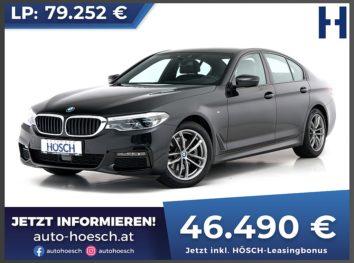 BMW 520d xDrive M Sport Aut. bei Autohaus Hösch GmbH in