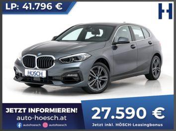 BMW 118i Sport Line Aut. bei Autohaus Hösch GmbH in