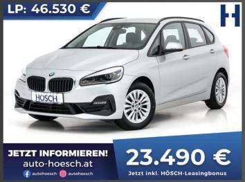 BMW 218d Active Tourer Advantage bei Autohaus Hösch GmbH in
