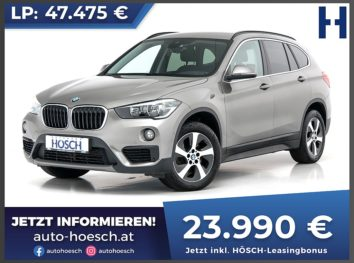 BMW X1 xDrive 18d Aut. bei Autohaus Hösch GmbH in