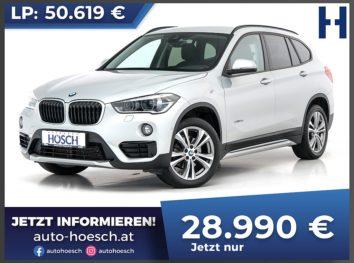 BMW X1 xDrive 18d Sport Line Aut. bei Autohaus Hösch GmbH in