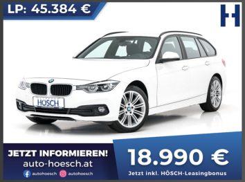 BMW 316d Touring Advantage bei Autohaus Hösch GmbH in