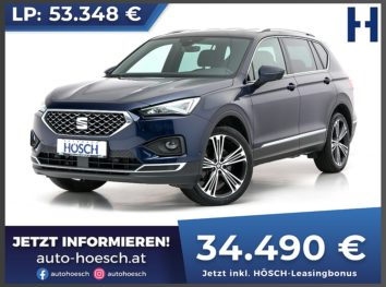 Seat Tarraco Xcellence TDI 4WD Aut. bei Autohaus Hösch GmbH in