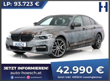 BMW 530d xDrive Sport Line Aut. bei Autohaus Hösch GmbH in