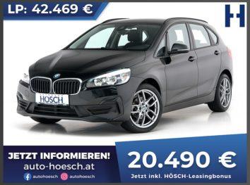 BMW 216d Active Tourer Advantage Aut. bei Autohaus Hösch GmbH in