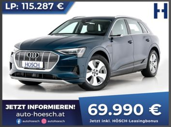 Audi e-tron 55 quattro advanced Aut. bei Autohaus Hösch GmbH in