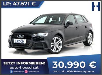 Audi A3 Sportback 40 TFSI Sport S-Line quattro Aut. bei Autohaus Hösch GmbH in