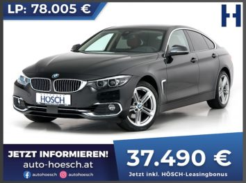 BMW 430d xDrive Gran Coupe Luxury Line Aut. bei Autohaus Hösch GmbH in