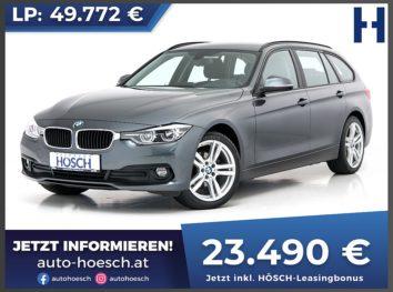 BMW 318d Touring Advantage Aut. bei Autohaus Hösch GmbH in