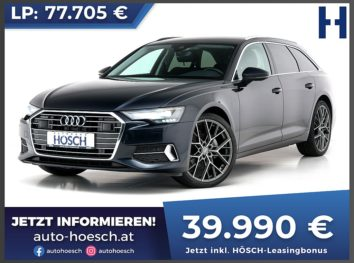 Audi A6 Avant 40 TDI quattro Sport Aut. bei Autohaus Hösch GmbH in