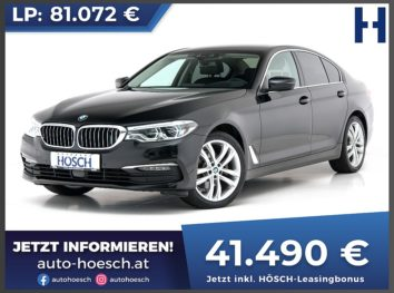BMW 520d Aut. TV/Night-Vision/Bowers&Wilkins bei Autohaus Hösch GmbH in