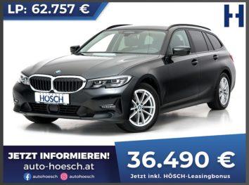 BMW 320d Touring xDrive Advantage Aut. bei Autohaus Hösch GmbH in