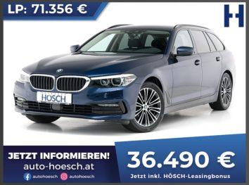 BMW 520d Touring Sport Line Aut. bei Autohaus Hösch GmbH in