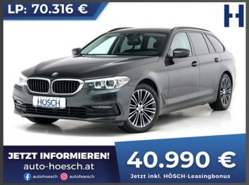 BMW 520d xDrive Touring Sport Line Aut. bei Autohaus Hösch GmbH in