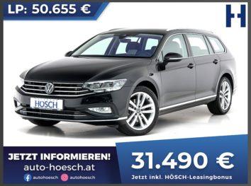 VW Passat Variant Elegance 1.5 TSI Aut. bei Autohaus Hösch GmbH in