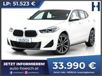 BMW X2 sDrive 18d M-Sport bei Autohaus Hösch GmbH in