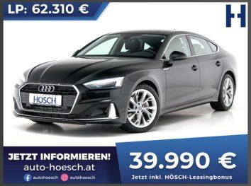 Audi A5 Sportback 40 TFSI Advanced Aut. bei Autohaus Hösch GmbH in