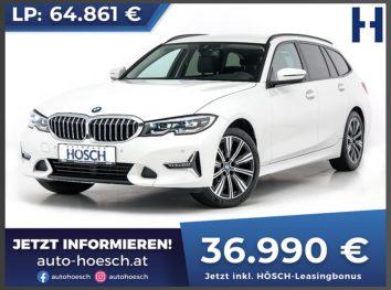 BMW 318d Touring Luxury Line Aut. bei Autohaus Hösch GmbH in