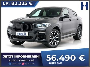 BMW X4 xDrive 20d M-Sport Aut. bei Autohaus Hösch GmbH in