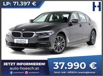 BMW 530e iPerformance Sport Line Aut. bei Autohaus Hösch GmbH in